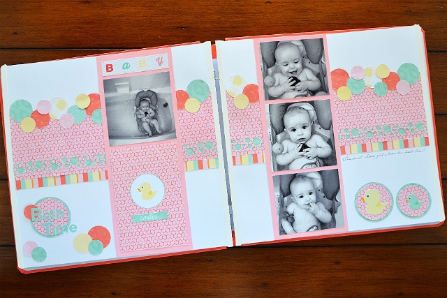 Baby Bathtime Scrapbook Ideas Creative Memories Australia Blog